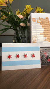 Chicago Star Enamel Pins