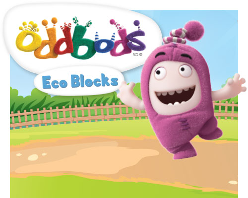 Collaboration between BiOBUDDi and Oddbods.
