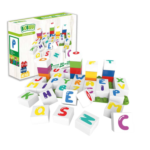 Educational Letters Uppercase - BiOBUDDi
