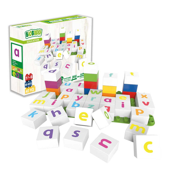 Educational Letters Lowercase - BiOBUDDi