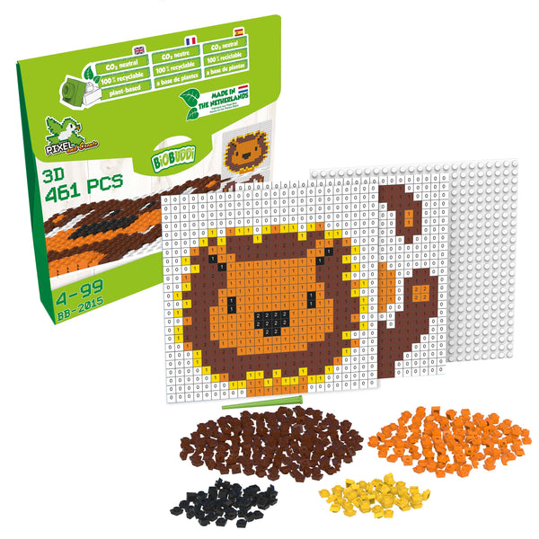 Pixel & Create Lion or Dog - BiOBUDDi