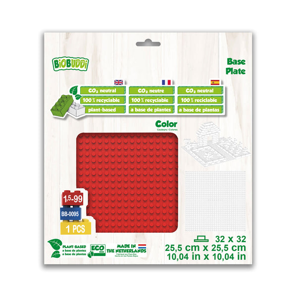 32x32 Baseplate Red