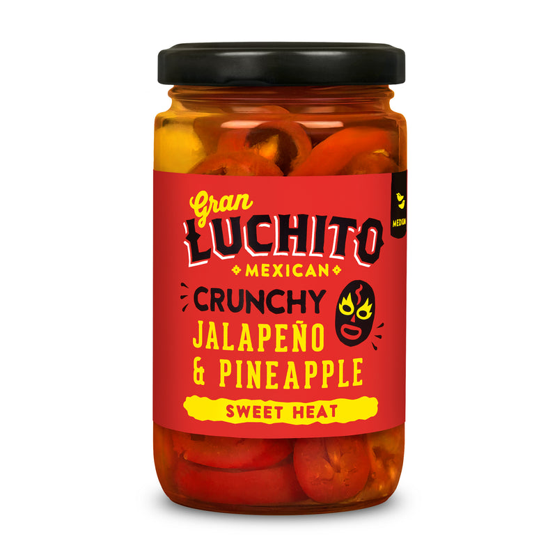 Gran Luchito Jalapeno and Pineapple - 215g