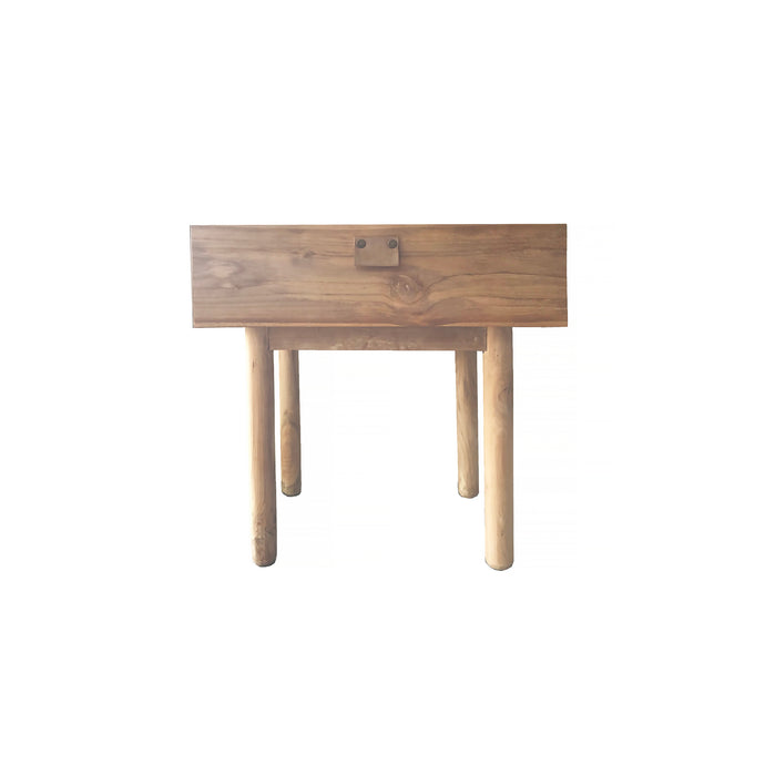 Aria Bedside | Natural/Black