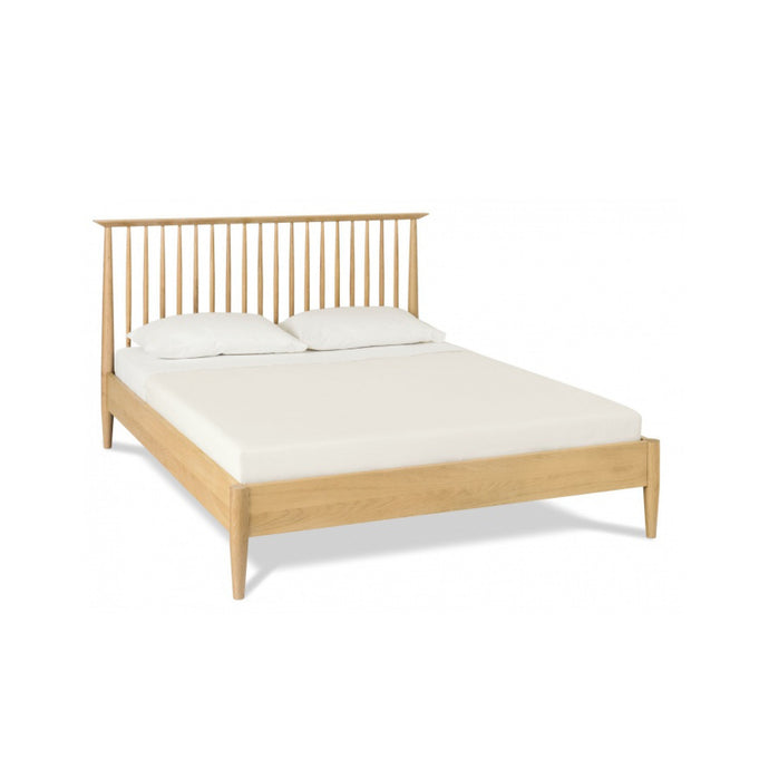 Asta 150cm Queen Low Spindle Bed Frame | Timber