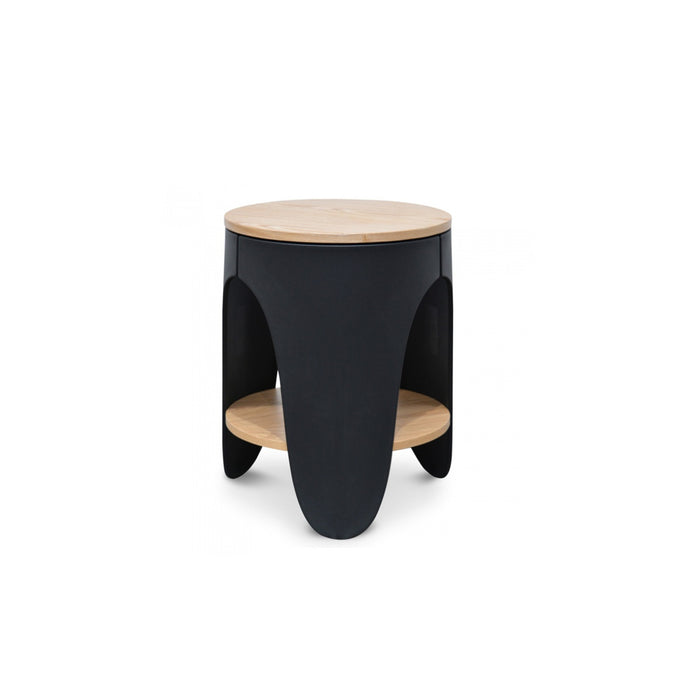 Jackson Side Table | Natural/Black