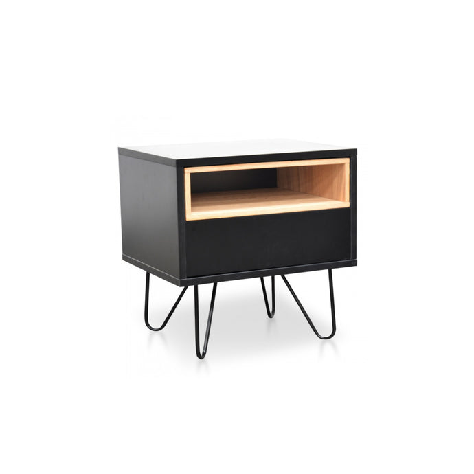Anthony Bedside Table | Black