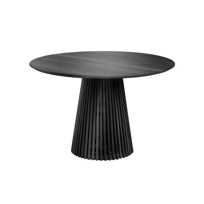 Irune Dining Table 1.2m | Black/Natural