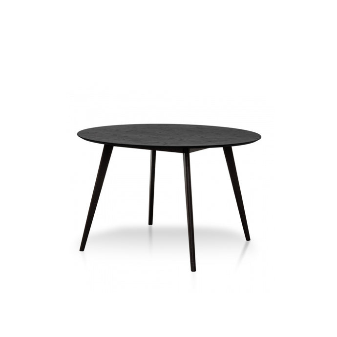 Swanson Round Dining Table 1.2m | Black
