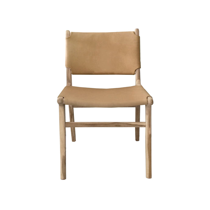 Marvin Dining Chair | Tan/Black