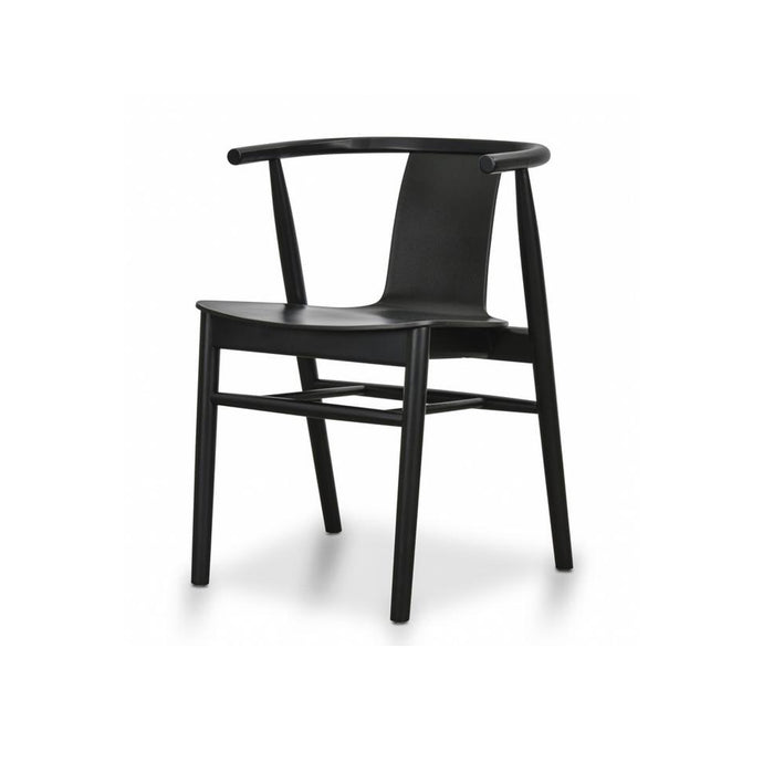 Dean Ash Dining Chair | Black