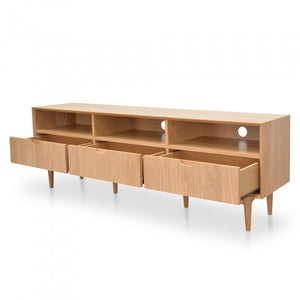 Johansen Scandi  TV Unit 1.8m | Natural