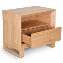 Load image into Gallery viewer, Jaxson Bedside table | Natural Oak