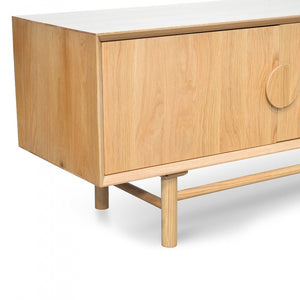 Duncan Entertainment TV Unit 2.1m | Natural
