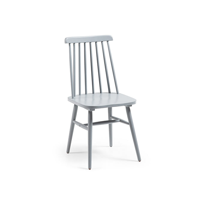 Kristie Dining Chair | Grey/Black/White/Natural