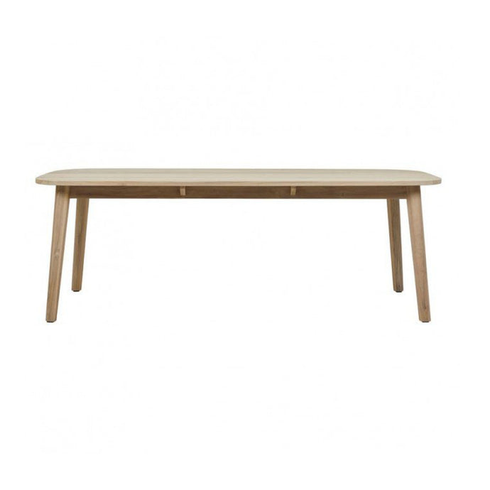 Normandy Pure Dining Table | Aged Teak