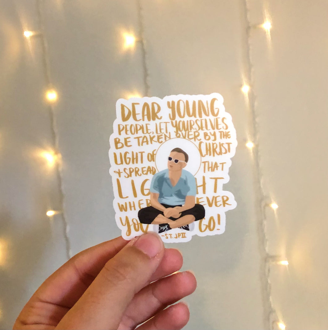 Spread the Light Sticker