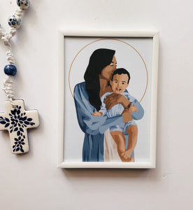 Our Lady of Garabandal Print