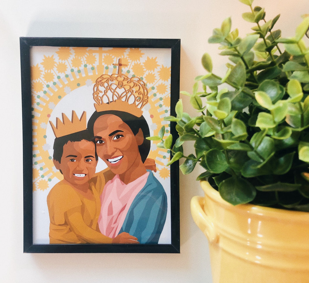 Our Lady of Manaoag Print