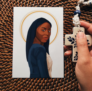Our Lady of Kibeho Print
