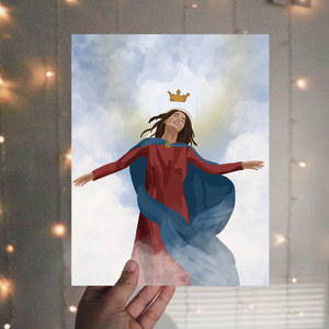 The Assumption of our Blessed Mother Print