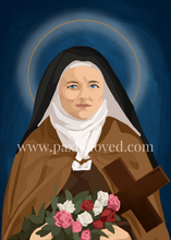 Load image into Gallery viewer, St. Therese of Lisieux Print