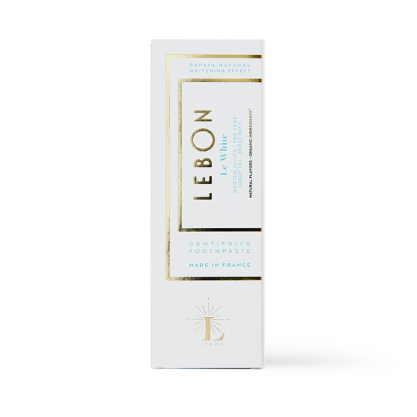 Le White Dentifrice 75ml LEBON