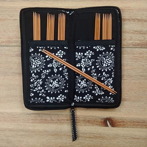 "Chiaogoo Double Point Knitting Needle Sock Set Chiaogoo Bamboo 6"" Knitting Needles Set"
