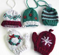 Christmas Ornament Mitt Kit
