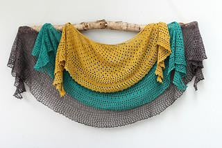 Pebble Beach Shawl Kit