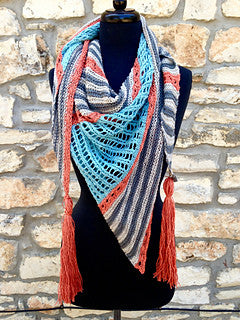 Prairie Summer Shawl Kit