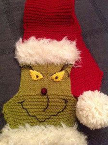 The Grinch Scarf Kit