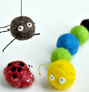 Wet Felting Summer Camp August 7th-11th, 10am-12pm