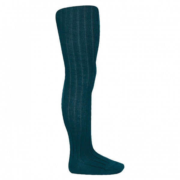 Cóndor wool ribbed tights, fv 918