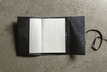 Load image into Gallery viewer, A5 Leather Journal With Lace Closure - 112 Pages