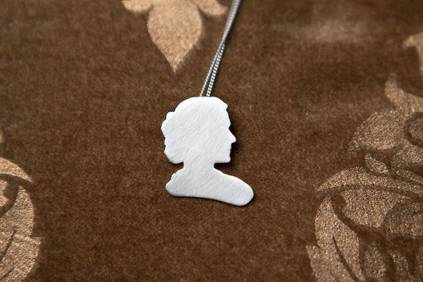 Marie Curie Cameo Necklace