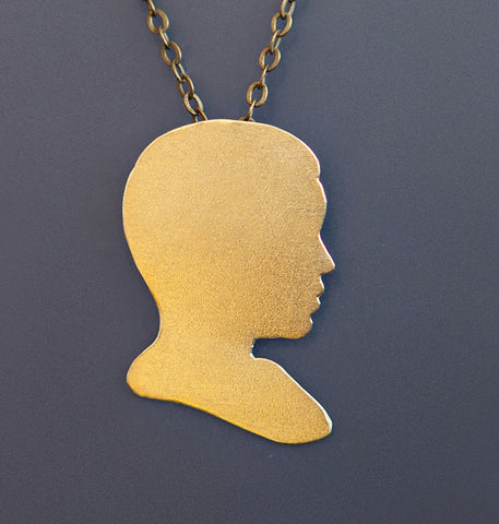 Mae Jemison Cameo Necklace