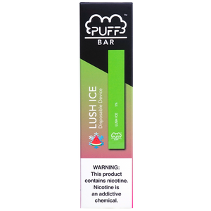 Puff Bar Lush Ice Disposable Device