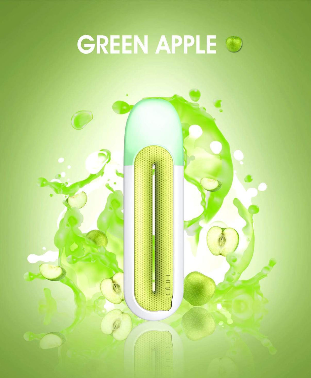 HQD Rosy - Green Apple - yummystig.com