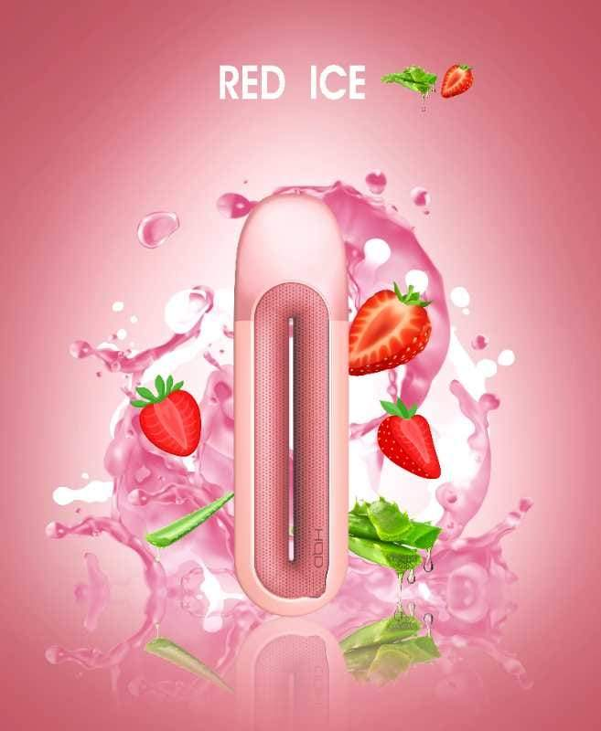 HQD Rosy - Red Ice