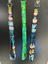 Load image into Gallery viewer, Rick and Morty Lanyard Design 2