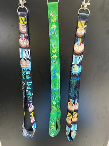 Rick and Morty Lanyard Design 2
