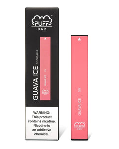 Puff Bar Guava Ice Disposable Device