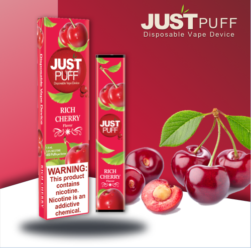 JUST PUFF RICH CHERRY