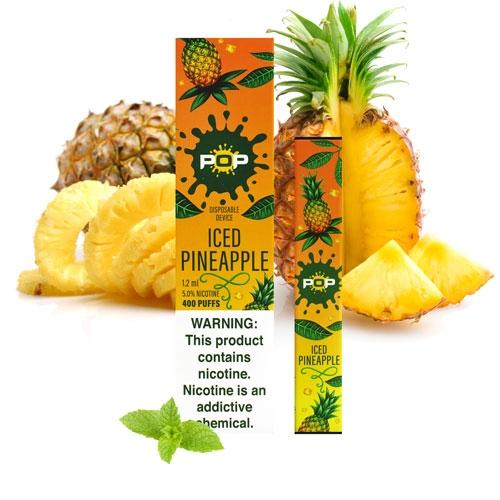 POP BLUE PINEAPPLE ICE - yummystig.com