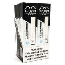 Load image into Gallery viewer, Puff Bar Clear Ice Disposable Device