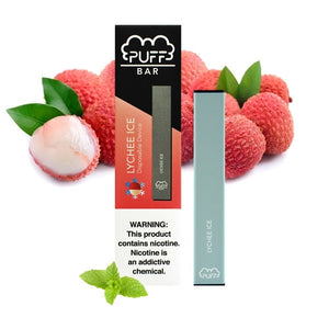 Puff Bar Lychee Ice Disposable Device