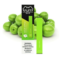 Load image into Gallery viewer, Puff Bar Sour Apple Disposable Device