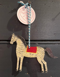 Horse hanging decoration