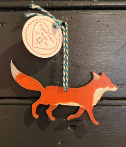 Fox hanging decoration
